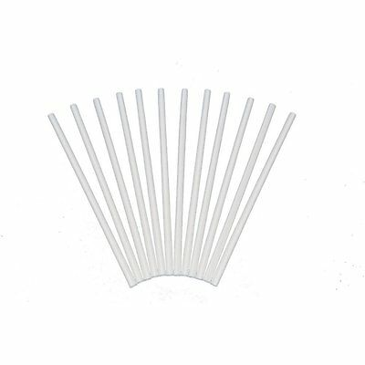 Plastic White Dowel Rods for Tiered Cake Construction, 16 Inch X 1/2, Pack of 12