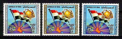 IRAQ 1979  Anniversary Of Iraq's Admission To The UPU Scott No. 922- 924 MNH