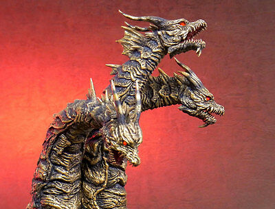 X-PLUS Japan Toho Daikaiju Series KAISER GHIDORAH RIC Limited Ed. GODZILLA New!