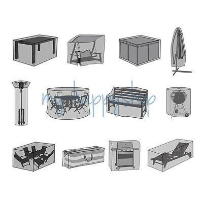 Waterproof Garden Patio Furniture Set Cover Outside Covers Table Chair Bench Bbq