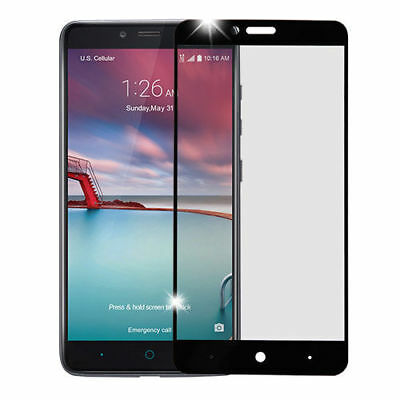 USA 9H Premium Full Cover Tempered Glass Screen Protector For ZTE ZMAX Pro Z981