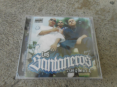 Los Santaneros-2 Live & Die In S.a.-Cd-Pa-Factory Sealed-Brand New!