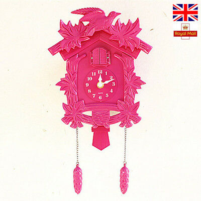Golden Color European Cuckoo Clock House wall clock Smart Call Pastorable Style