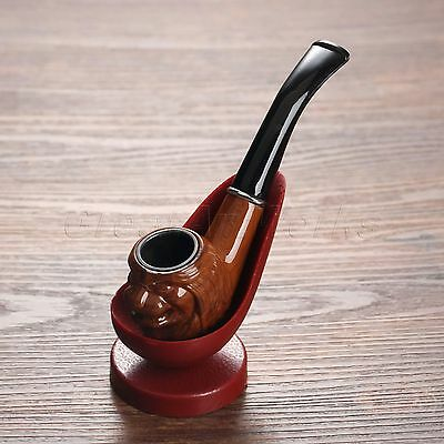 Vintage Wood Enchase Cigarettes Pipe Tobacco Gorgeous Cigar Retro Smoking Pipes
