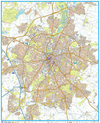 LEICESTER STREET MAP by Geographers' A-Z Map Co Ltd (Wall ... on submarine map, meteorologist map, artist map, the national map, explorer map, ptolemy map,