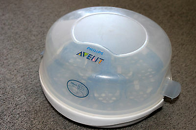 Philips Avent Microwave bottle steriliser, with free baby wipe carrier
