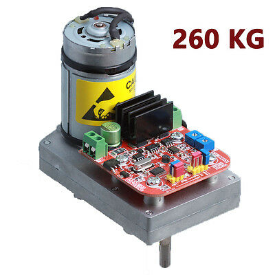 DC12-24V 260kg.cm  High Torque Alloy Servo  Steering Gear  for Large Robot Arm