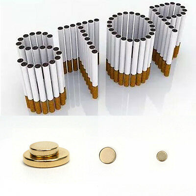 Cigarettes Magnetic Ear Acupressure Quit Stop Smoking Ear Magnet Pack of 2