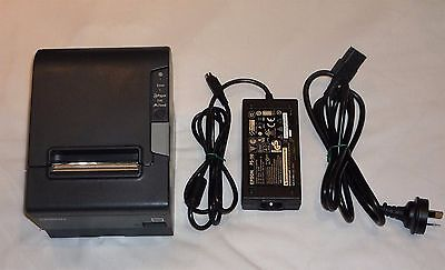 Epson TM-T88V 80mm POS Thermal Receipt Printer, M244A, USB & Parallel Ports