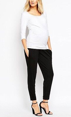 BLUEBELL Maternity Black Pants Size AU 10 BNWT