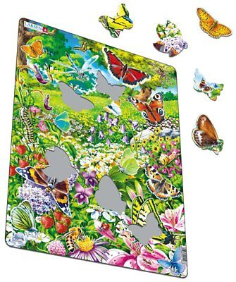 Butterfly Garden Jigsaw-42 Pieces, Alzheimers/Dementia Activities Product