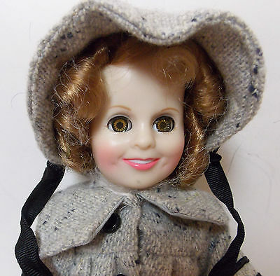 Vintage Ideal Shirley Temple Doll 1982 Rare Outfit Dimples Sleepy Eyes