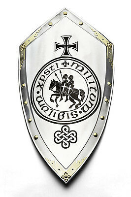 Templar Knight Cross Seal Shield 89x44cm - Replica - Marto - Toledo