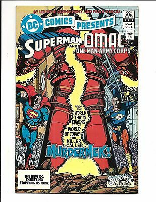 DC COMICS PRESENTS # 61 (Superman & OMAC [ONE MAN ARMY CORPS], Sept 1983), NM