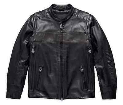 Harley-Davidson Men's Motorcycle Leather Jacket, Willie G Limited Edition, Lined