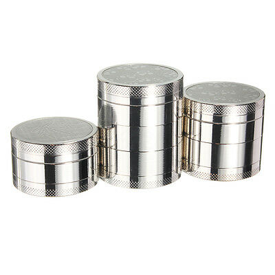3/4/5 Partes Molinillo Grinder Metal Crusher Herb Spice Fumar