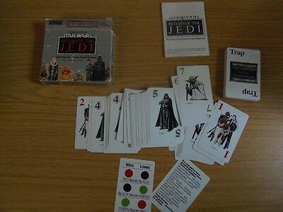 Kartenspiel Starwars Return of the Jedi Five Games in One Parker Brothers