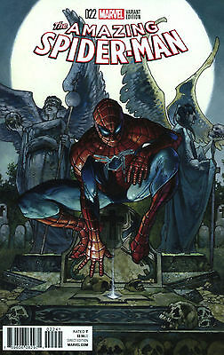 AMAZING SPIDER-MAN #22 BIANCHI VARIANT 1:25 Bagged & Boarded NM