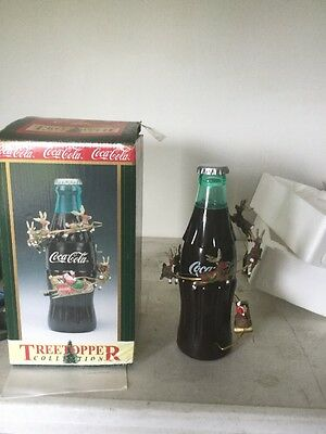 Rare 1999 Coca-Cola Tree Topper Animated Tree Topper