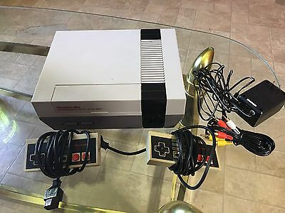 Nes Console Original Works Excellent Nintendo Entertainment System Nes Lot Games