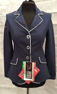 For Horses Page Show Jacket - Navy