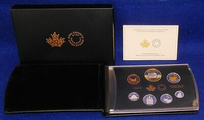 2016 Canada Fine Silver Proof Set..150Th Anniversary Of Transatlantic Cable..rcm