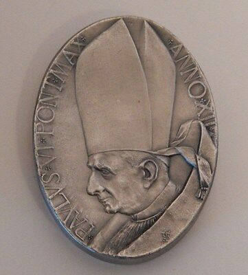 Old Vatican Collector Coin in Case of Pope Paul VI (#1)