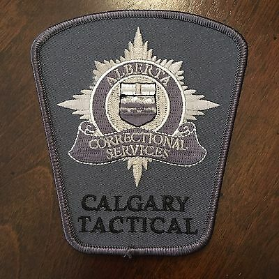 Alberta Corrections Tactical Team Patch