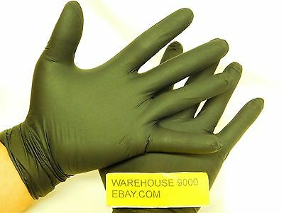 100 L Black Dragon Zero  Non-Latex ~ Powder-Free Examination Gloves BD-1003-NPF