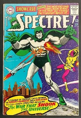 Showcase #60 1966 Solid Vg+ Minor Key 1St Silver Age Spectre! Great Anderson Art