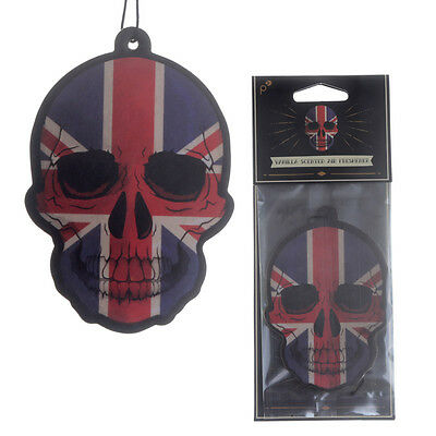 Union Skull Car Air Freshener gift for home van Vanilla scented novelty freshner