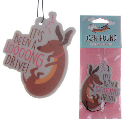 Sausage Dog Car Air Freshener for home van Novelty Hanging Berry Scent Freshner