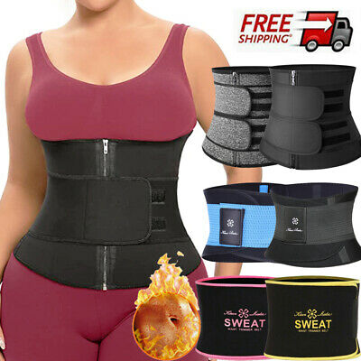 Fajas Reductoras Body Shaper Slimming Wrap Belt Waist Cincher Corset Trainer L