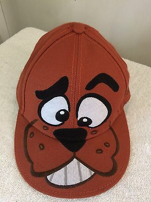 Scooby Doo Hanna Barbera Adult Hat Cap Brown Fitted