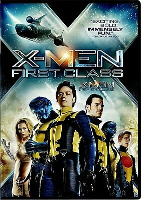 NEW DVD / X-MEN FIRST CLASS - James McAvoy, Michael Fassbender, Kevin Bacon, Ros