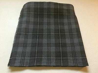 Grey Granite Tartan Baby Kilt 0-3m-2-3 y Waist & Length Measurements Given