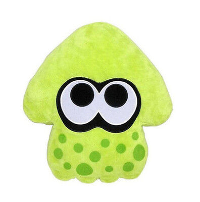 "1x New Little Buddy 1431 Splatoon Plush Series Cushion Pillow ~ 14"" Lime Green"