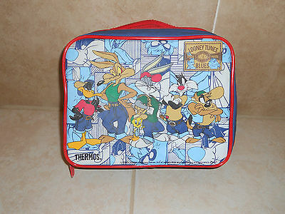 1997 Looney Tunes Blues Toons Warner Bros. Thermos Lunchbox