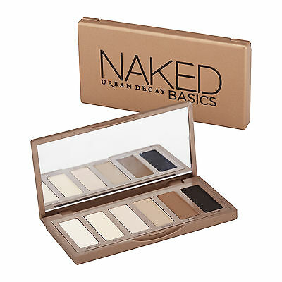 Urban Decay Naked Basics Eyeshadow Palette Makeup Long-lasting Colors Beauty