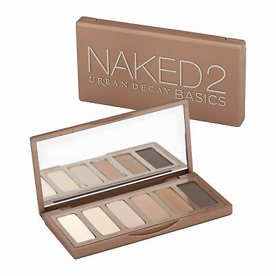 Urban Decay Naked2 Basics Eyeshadow Palette Makeup Long-lasting Colors Beauty