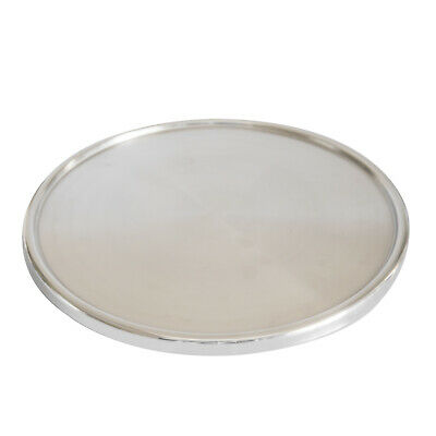Cake Stand 330x30mm Stainless Steel Display Cupcakes Cakes Footed Plate