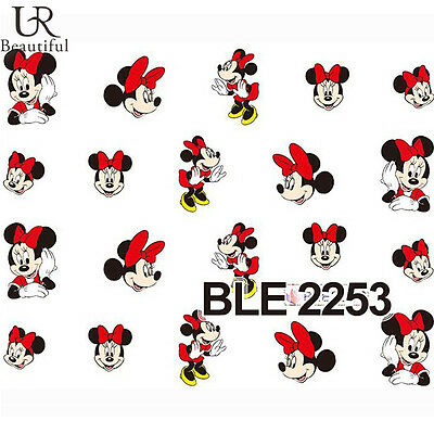 Nail Water Decals Nail Art Transfer Nail Stickers Accessory Mickey Cartoon