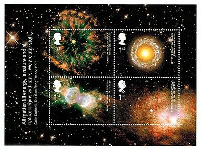 Great Britain 2002 Recent Used #2075 Astronomy Souvenir Sheet VF (Sc $5.00 US)
