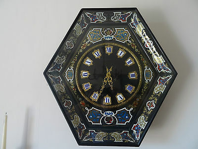 MAGNIFICENT 19TH CENTURY FRENCH BOULLE WALL CLOCK BY *Marti & Cie* CIRCA 1860