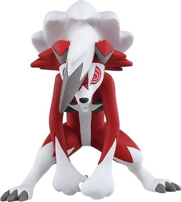 "TOKARA TOMY 2.7"" Pokemon Sun&Mooon Lycanroc Night Form Kids Action Figure Toys"