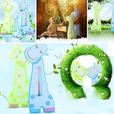 Cute Animal Shape Baby BathThermometerWater Temperature Measurement Bath Toy