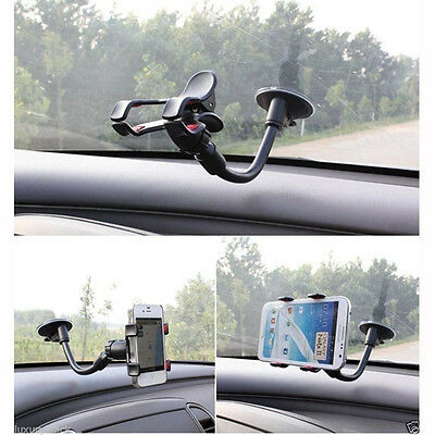 Car Windshield Gooseneck Mount Holder for iPhone iPod Smart Cell Phone MP3 PDA