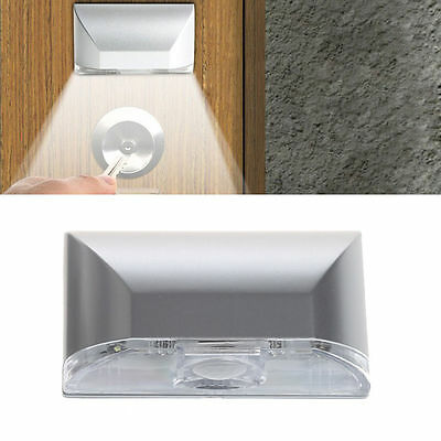 4 LED Light Lamp PIR Infrared IR Wireless Auto Sensor Motion Detector Keyhole