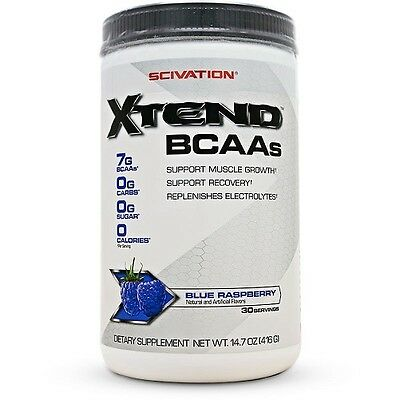Scivation XTEND Intra Workout BCAA Amino Acids - 30 servings - Choose flavour