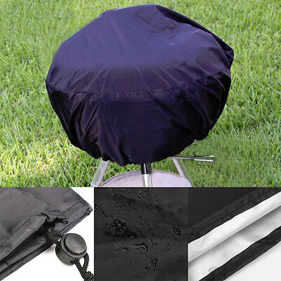 BBQ Grill Cover Fits Stand-Up Charcoal Grill Serving Outdoor Round 14''-15''